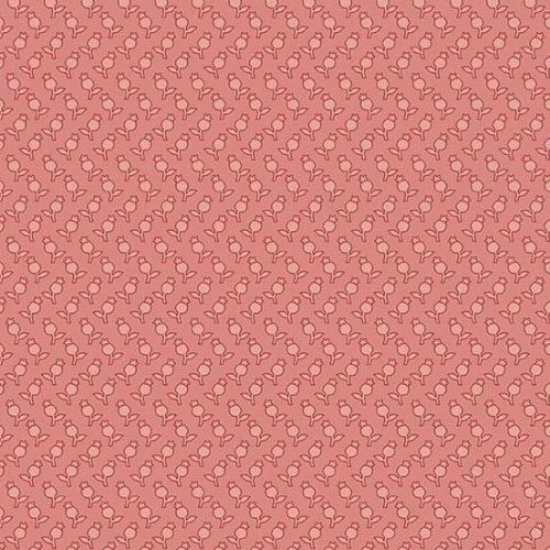 Andover SEQUOIA, Tulips Pink 8757E, 100% Cotton Patchwork Quilting Fabric